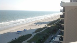 Myrtle Beach, SC - Breakers North Hotel.  Stop for R&R and a walk on the beach.
