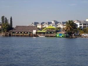 Lantana Beach Bar near our boat.